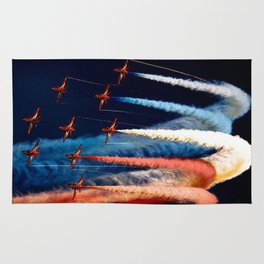 BEAUTIFUL AIRPLANE FORMATION1 Rug