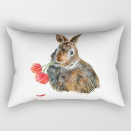 Double Trouble by Teresa Thompson Rectangular Pillow