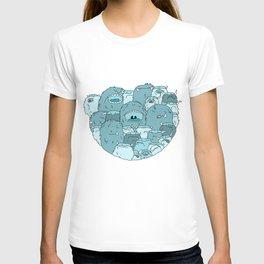 Monster viking T-shirt