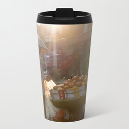 Vietnam Streets Metal Travel Mug