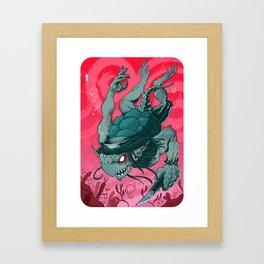 Kappa (colour version) Framed Art Print