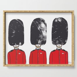 Royal Guards Serving Tray