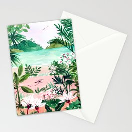 Seaside Meadow Stationery Cards