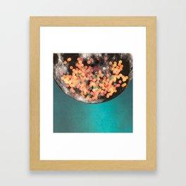 blue / moon #2 Framed Art Print