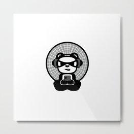 Buddha TEC Panda Metal Print