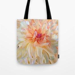 Dancing Dahlia Tote Bag