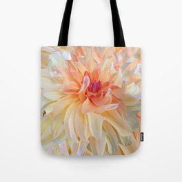 Dancing Dahlia Tote Bag