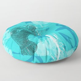 Manatee Floor Pillow
