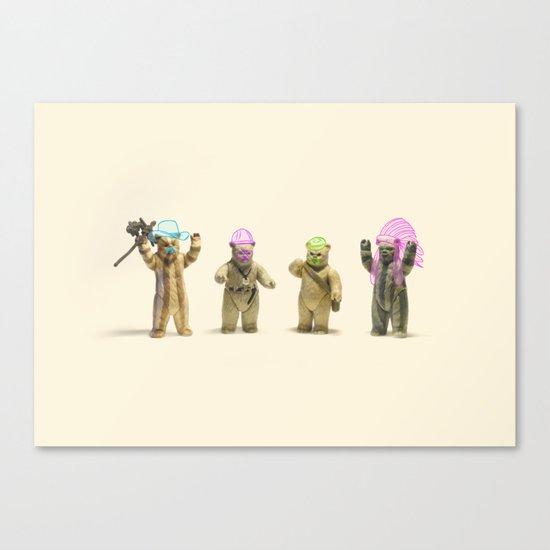 Ewok Village People Canvas Print