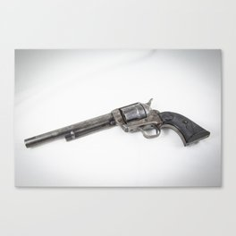 Guns Of The Old West #3, Colt .45 Canvas Print