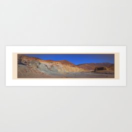 River Bed On The Hi Plateau Art Print