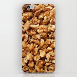 Chopped walnuts iPhone Skin