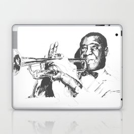 Louis Armstrong, Satchmo or Pops Laptop & iPad Skin