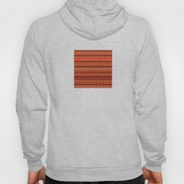 Abstract in orange Hoody