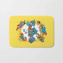 When Clown Cars Explode Bath Mat