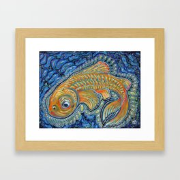 Lucky Fish Framed Art Print