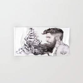 Sailor's Beard Hand & Bath Towel