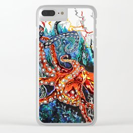 The Duel Clear iPhone Case