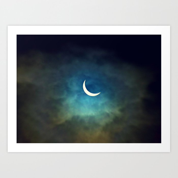 Solar Eclipse 1 Art Print