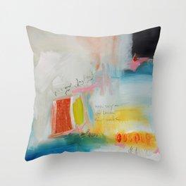 Fine art print from original painting  Throw Pillow