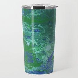 Paint Pouring 41 Travel Mug