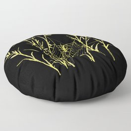 Said the Spider to the Fly Floor Pillow
