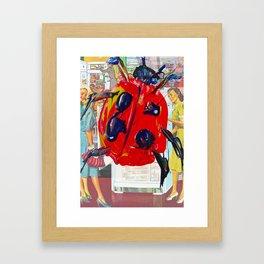 LADY BUG SYNECTICS2 #3 Framed Art Print