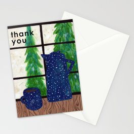 Thank You Card - Coffee at Home Stationery Cards