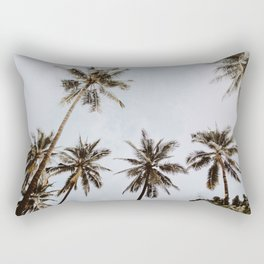 palm trees xiv / chiang mai, thailand Rectangular Pillow