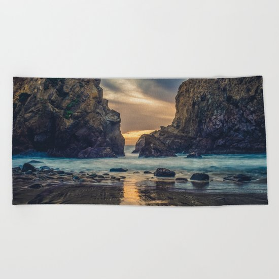 Touch of the Sea Beach Towel