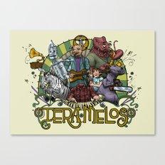 Tera Melos. Canvas Print