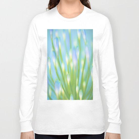 Blue & Green Long Sleeve T-shirt