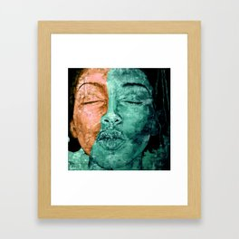 I used to know myself Framed Art Print