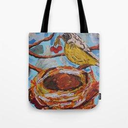 La Belle Bird & Nest Tote Bag