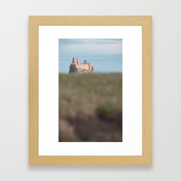 the view to blefuscu... Framed Art Print