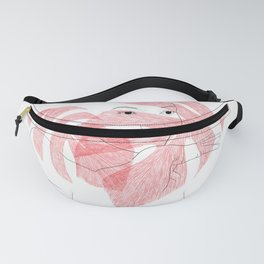 lady behind leaves Fanny Pack