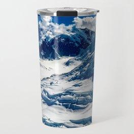 Icy Blue Travel Mug