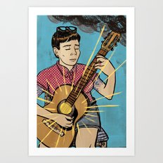 Happy Songs Art Print