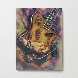 Johnny Depp's electric guitar Metal Print