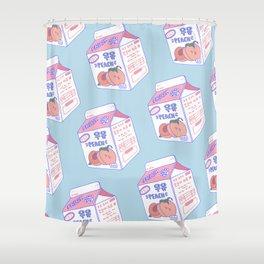 Peach Milk Shower Curtain