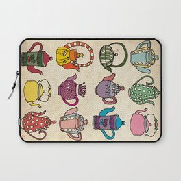 Teapots Laptop Sleeve