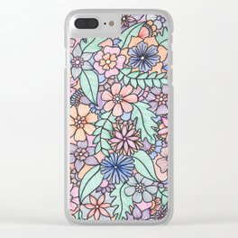 Forest of Color Clear iPhone Case