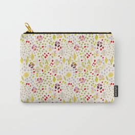 River Walk Floral Carry-All Pouch