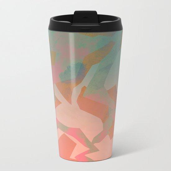 Camouflage IX Metal Travel Mug