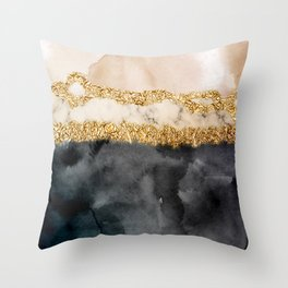Stormy days V Throw Pillow