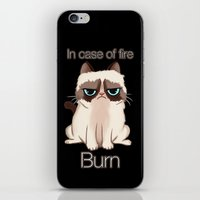 grumpy iPhone & iPod Skins featuring Grumpy  by Blaze-chan