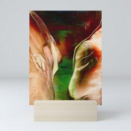 Face to face Mini Art Print