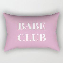 Babeclub pink Rectangular Pillow