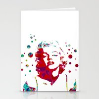 monroe Stationery Cards featuring MONROE by Bianca Lopomo