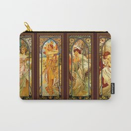 Vintage Art Nouveau - Alphonse Mucha Carry-All Pouch